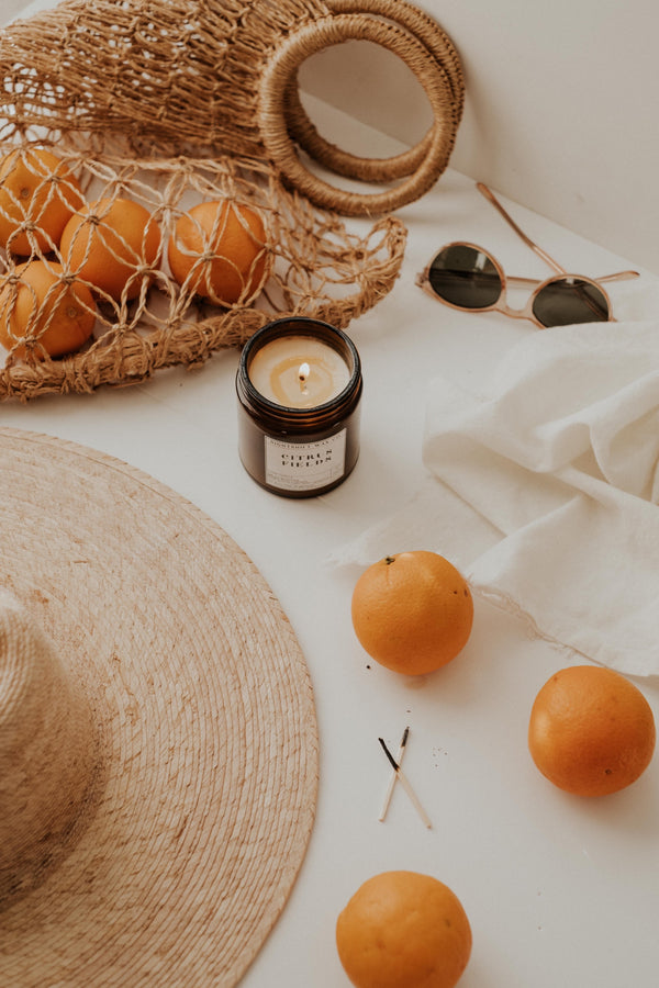 Citrus Fields Soy Candle