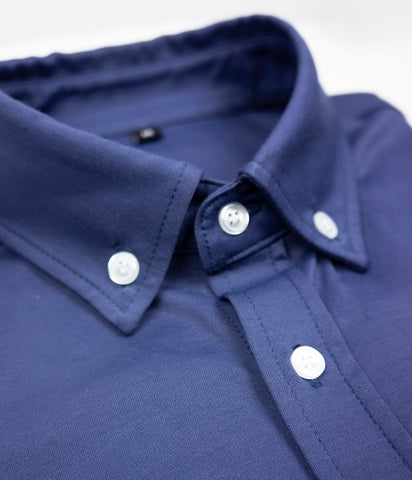 """Franklin"" - Navy Blue: STRETCH"