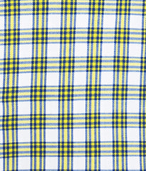 """Arbor"" - Blue & Yellow Check: NO SWEAT"