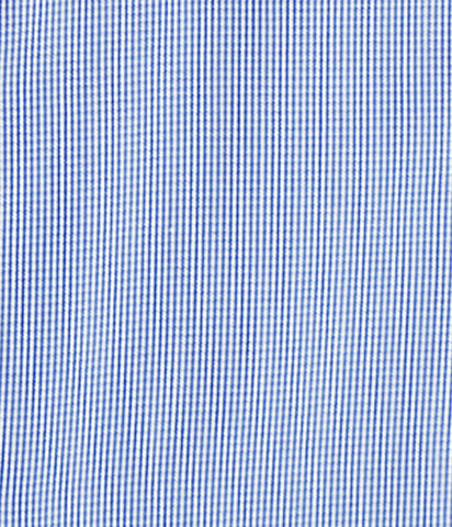 """Beacon"" - Blue Micro Check: NO SWEAT"