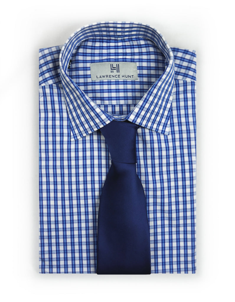 """Brush"" - Blue Gingham: NO SWEAT"