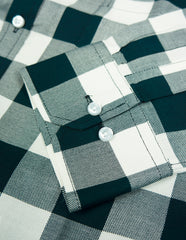 """Henry"" - Green & White Check: FEATHERWEIGHT"