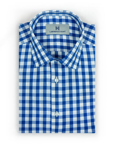 """Kirby"" - Blue & White Check: NO SWEAT"