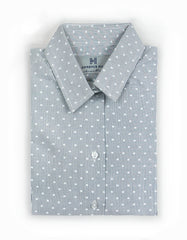 """Woodward"" - Women's Gray Dots: No Sweat"
