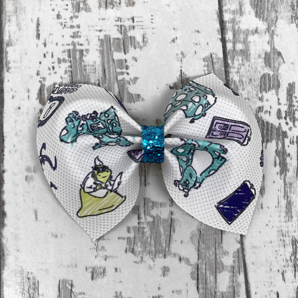 Monsters INC. Charlotte bow
