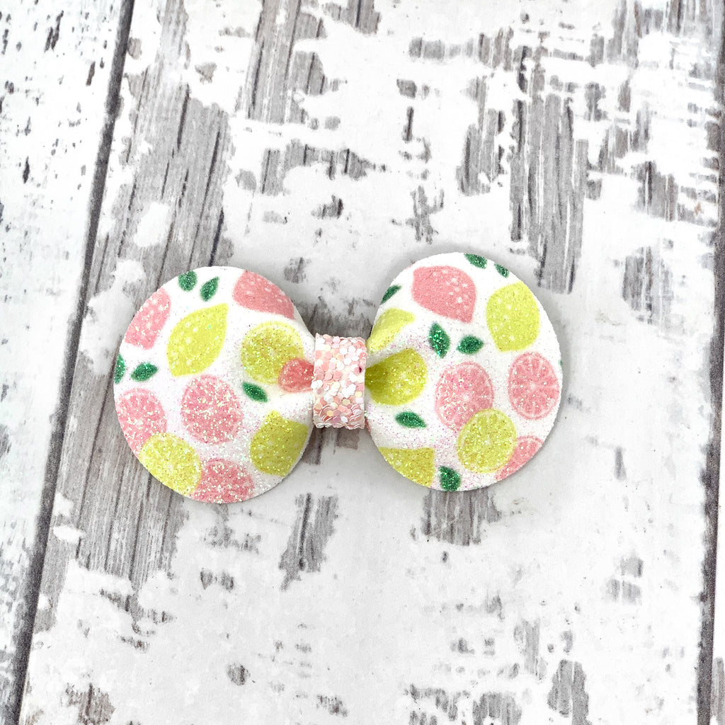 Pink Lemonade Gracie Bow