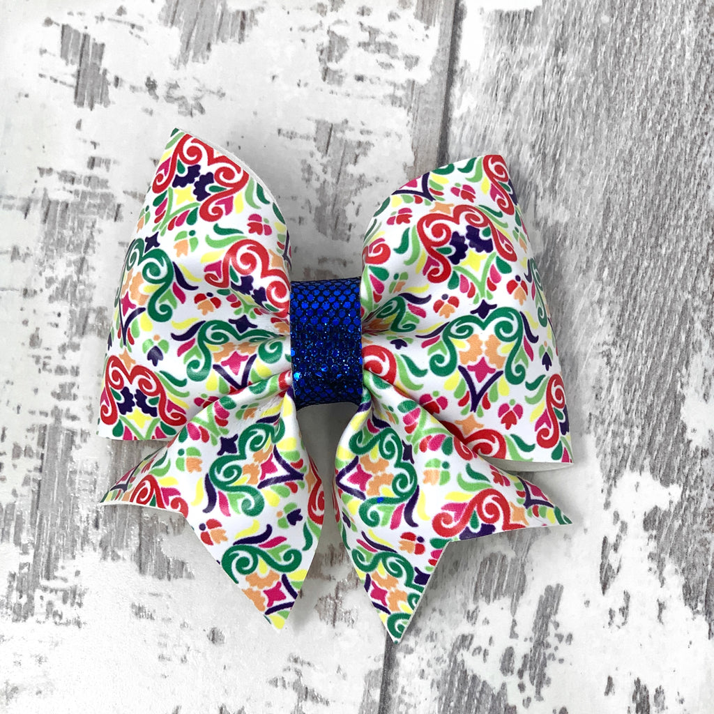Fiesta Damask Lucy Bow