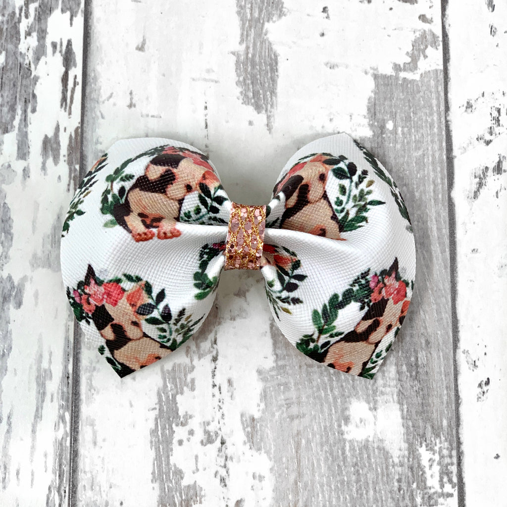 Frenchie Charlotte bow