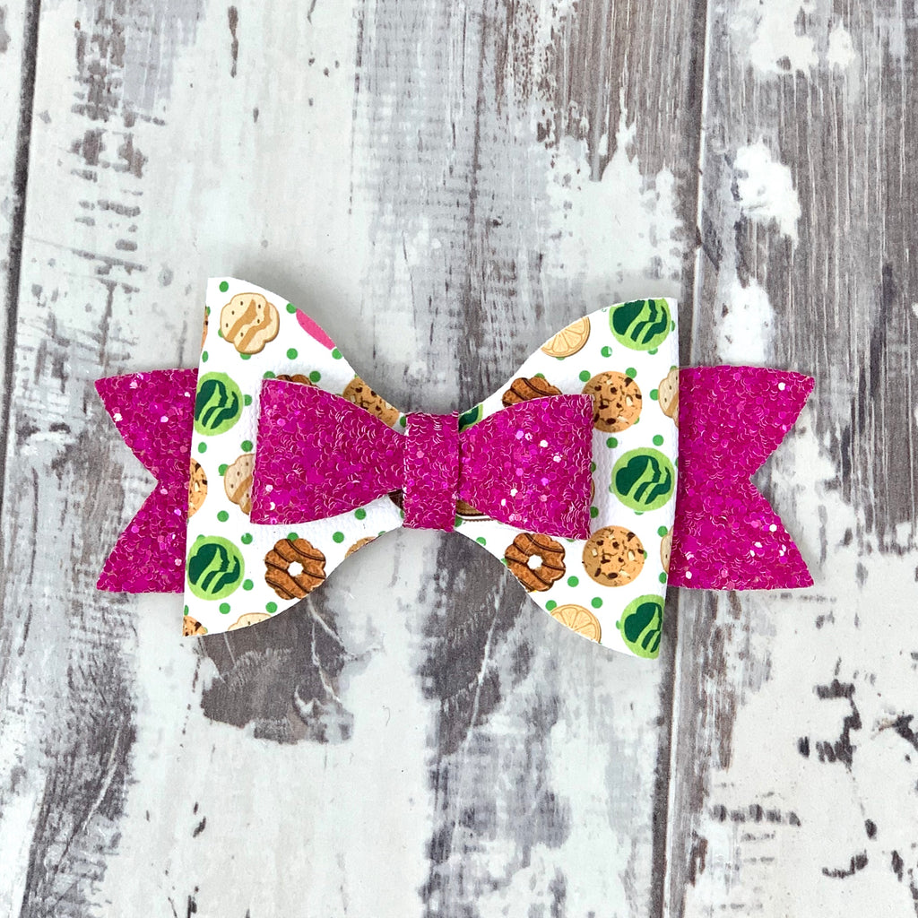 Girl Scout Cookies Adilyn Bow