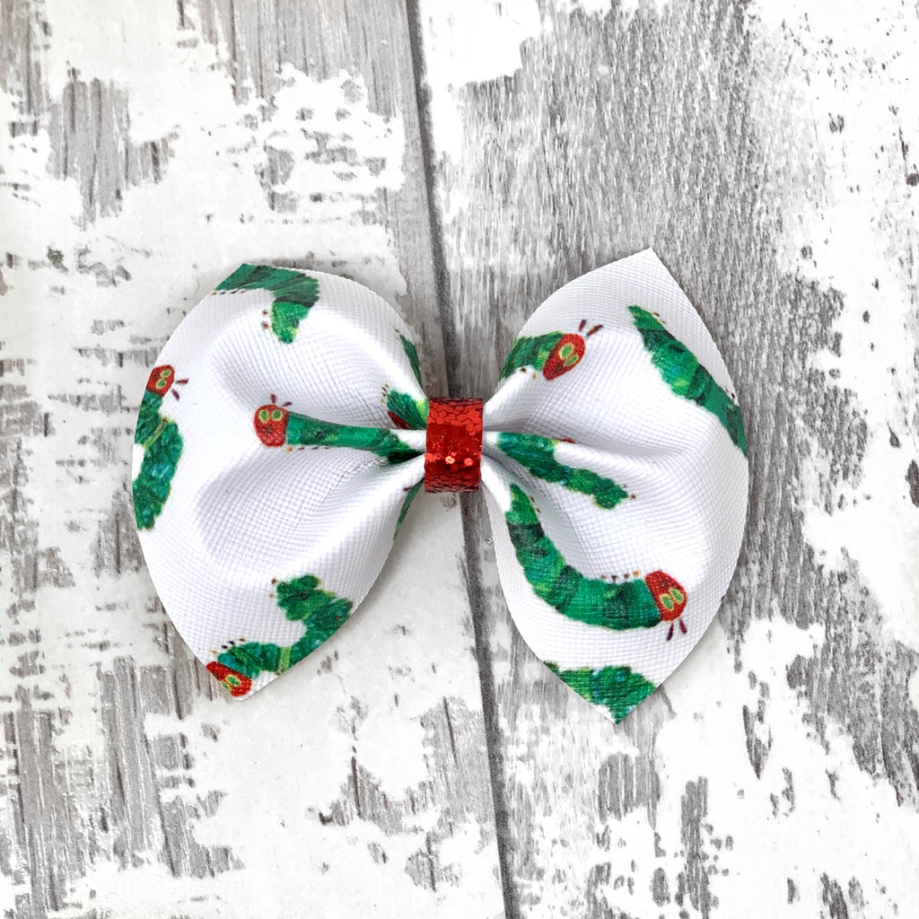 Hungry Caterpillar Charlotte bow