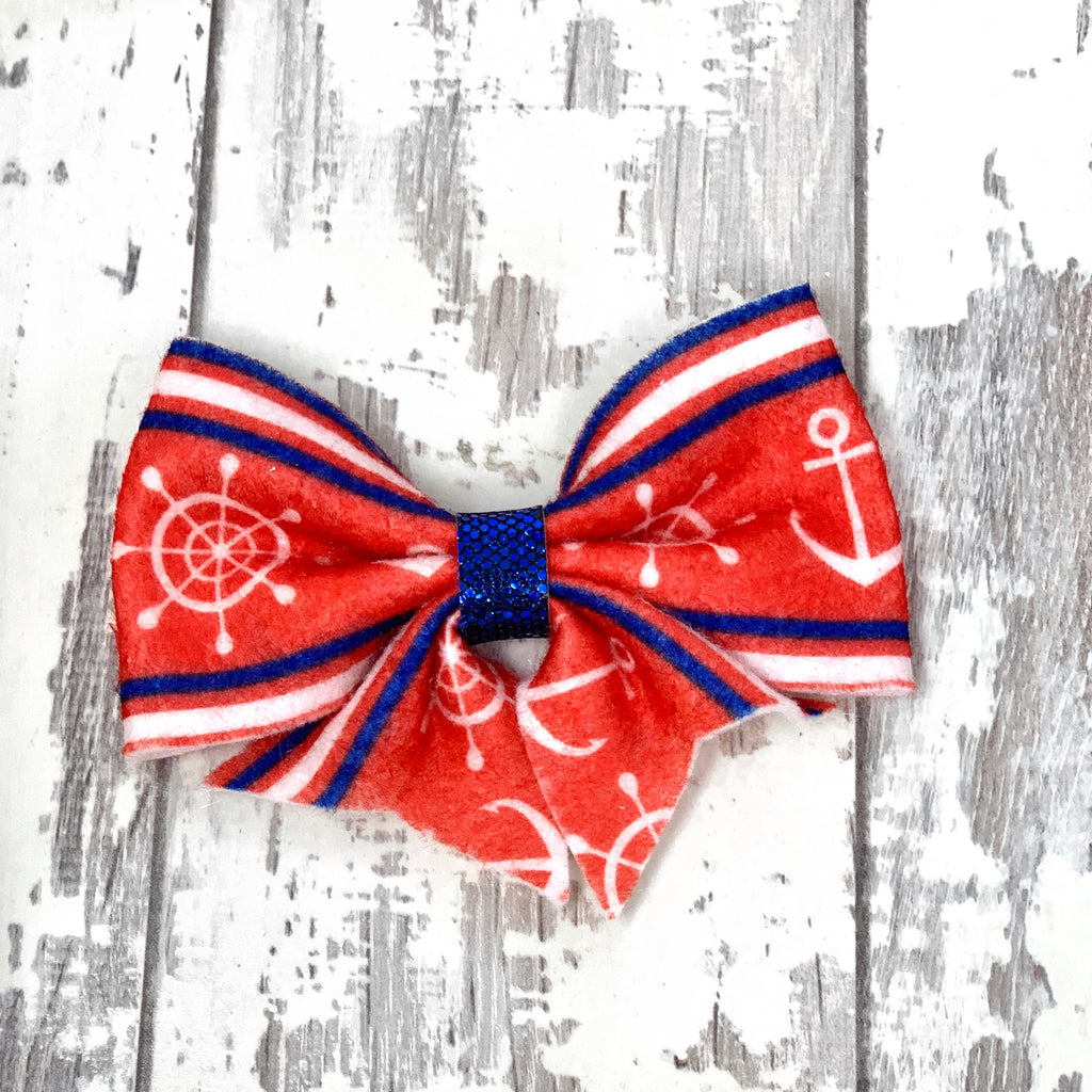Nautical  Lucy Bow