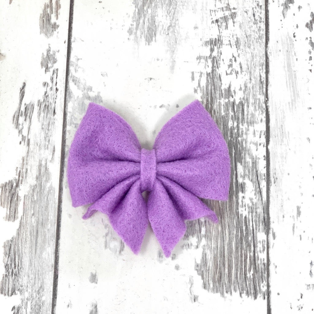 MINI Lilac Lucy Bow