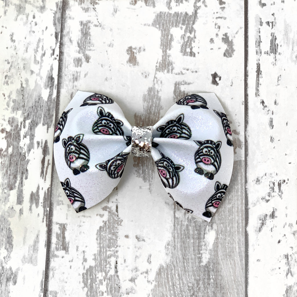 Zebra Friend Charlotte bow