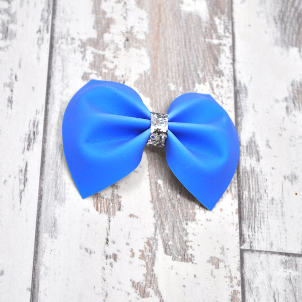 MINI Violet to Blue Color Changing Charlotte bow