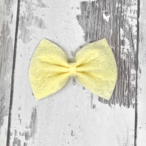 MINI Custard Charlotte bow