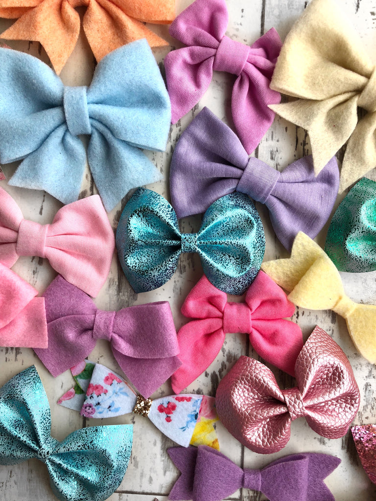 Spring Grab bag of 5 bows