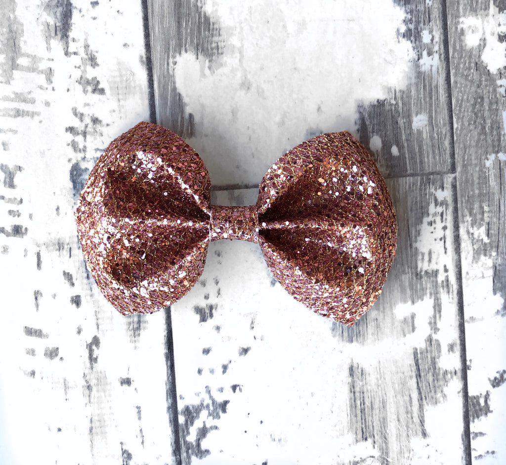 Rose Gold Charlotte Bow