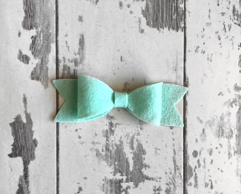 Mint Scarlett Bow
