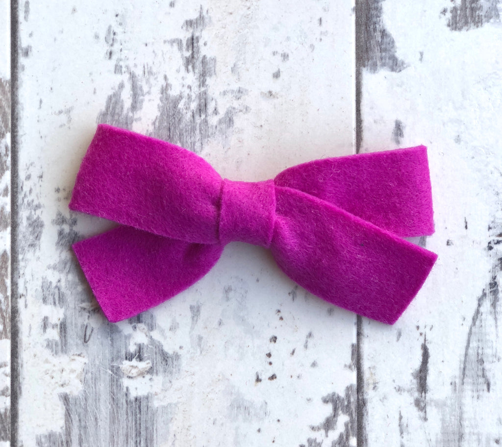 Violet Sailor Bow
