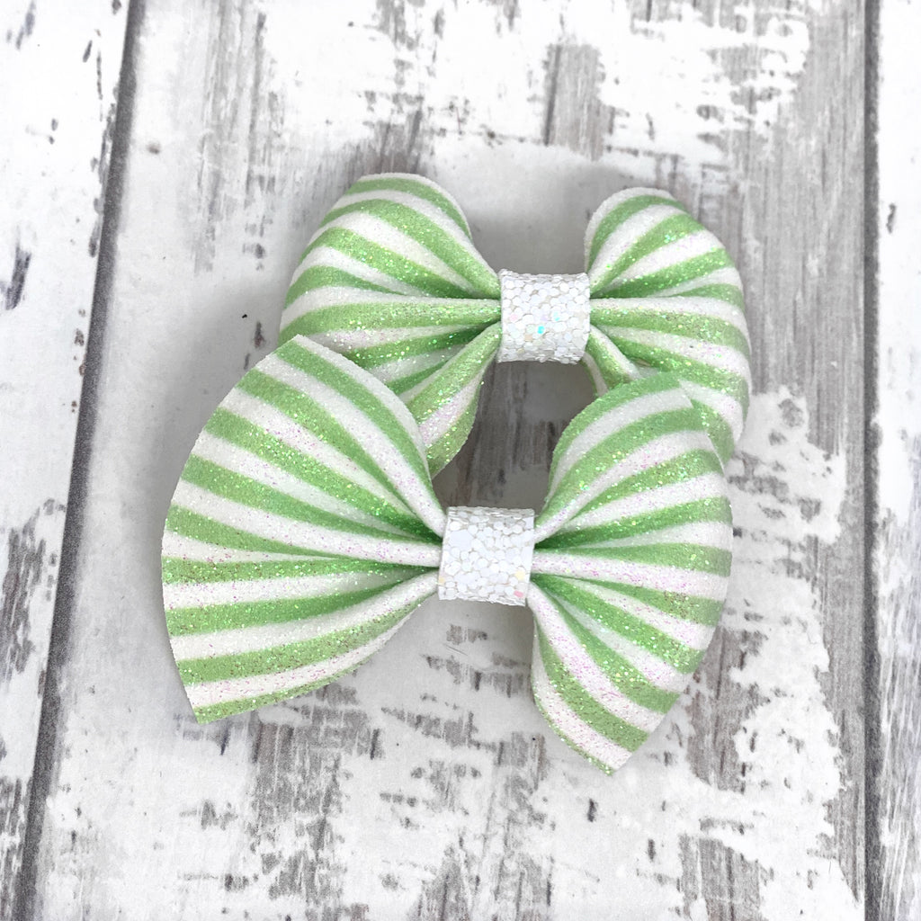 Piggies Set MINI Lime Striped Charlotte