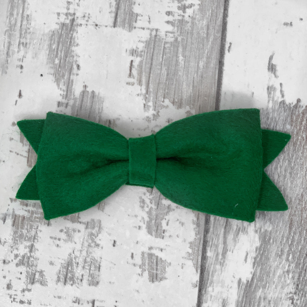 Emerald Green Claire Bow