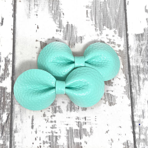 Piggies Set Mint leather Gracie