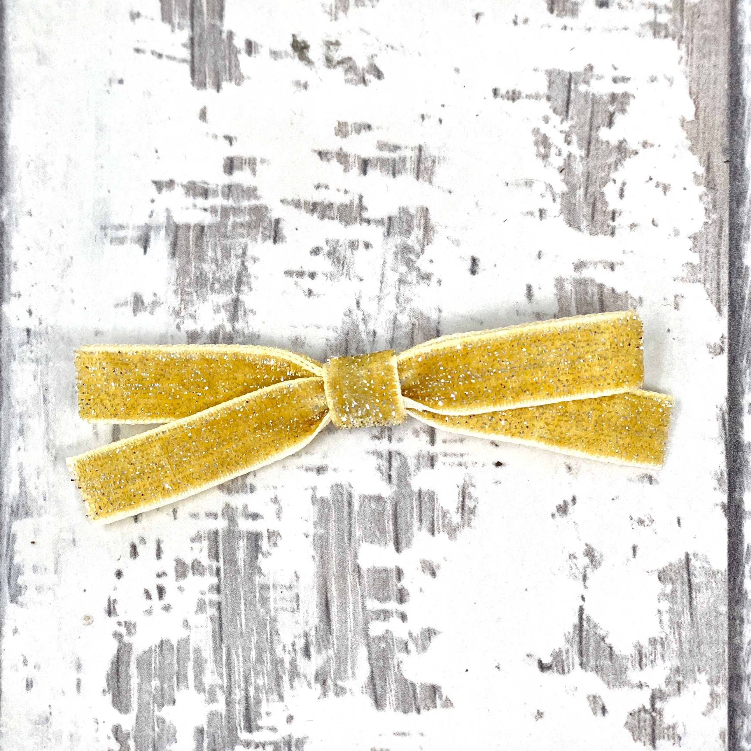 Gold Petite Sailor Bow