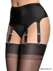 Nylon Dreams 6 - Strap Suspender Belt