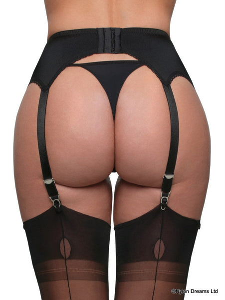 Nylon Dreams 4 - Strap Suspender Belt