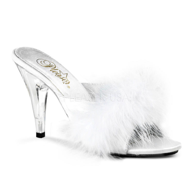 Pleaser - Fabulicious Caress Fur Sandals