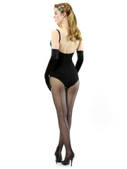 Retro Seamed Tights