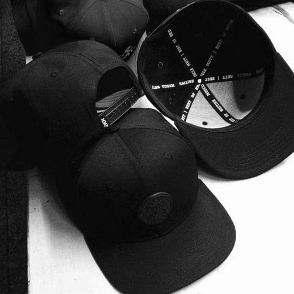 Everyday Of The Week In #MuscleMutt Stealth Black Snapback