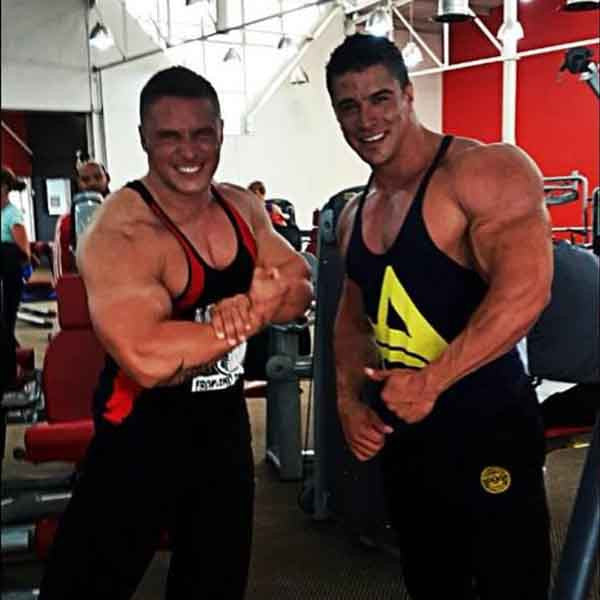 Swole Mates In #MuscleMutt Stealth Black Joggers