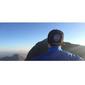 On Top Of The World In #MuscleMutt Stealth Black Snapback