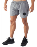 Muscle Mutt Mens Grey Gym Shorts