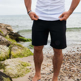 Black Pack Aesthetic Jogger Shorts