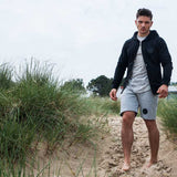 Heather Grey Aesthetic Jogger Shorts
