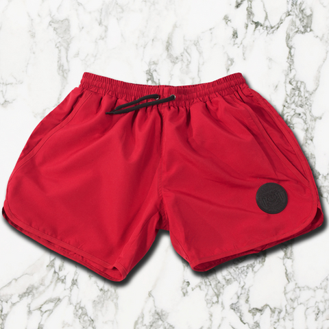 Blood Red Aesthetic Shorts