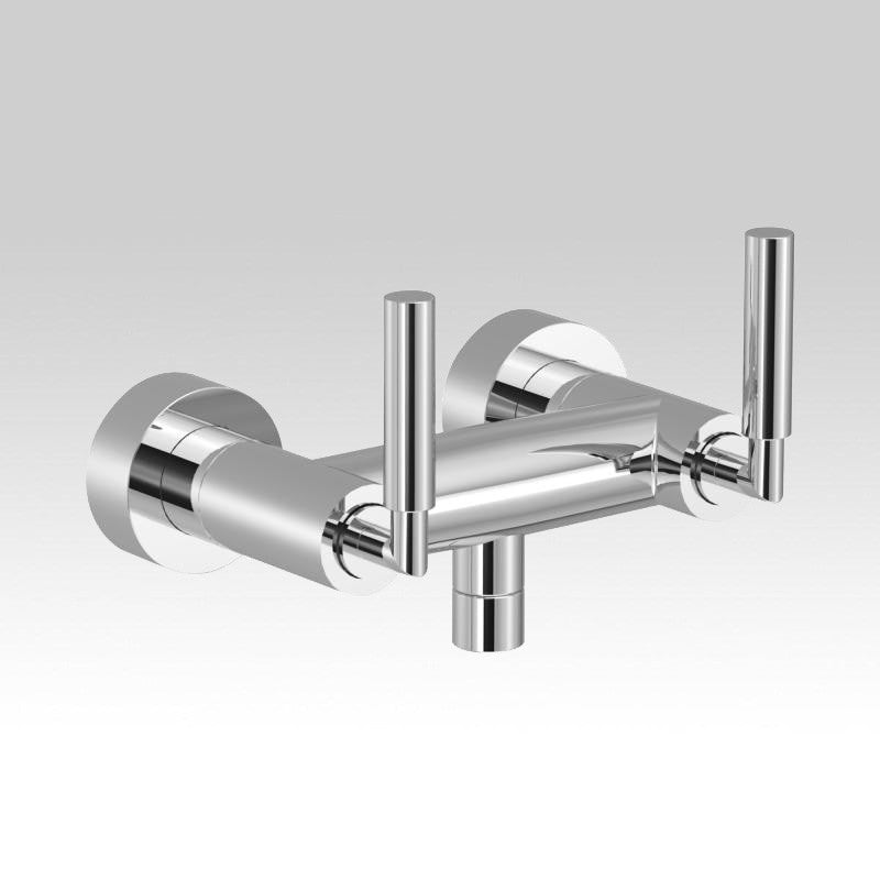 Dornbracht Tara. Wall-mounted shower mixer with levers 26100882-00 ...