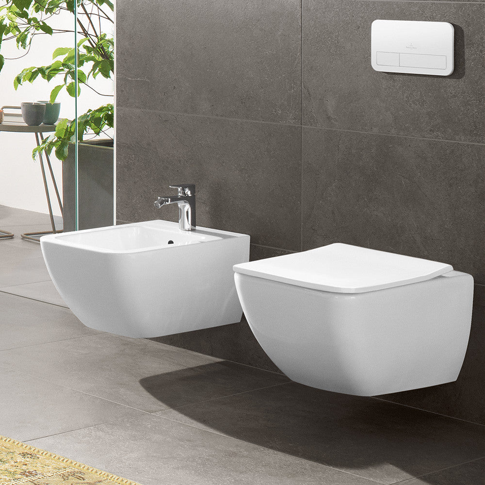 villeroy boch venticello wall mounted rimless toilet