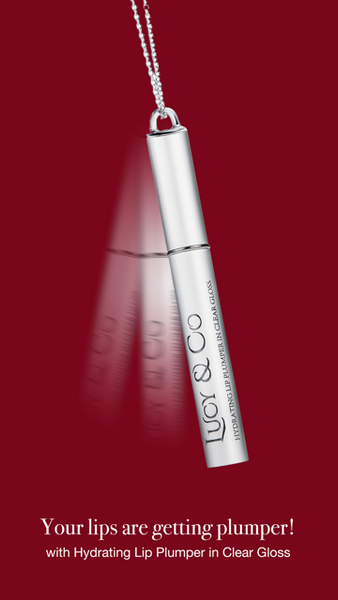 Lucy & Co Hydrating Lip Plumper In Clear Gloss