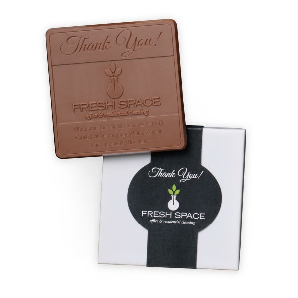 Mid-sized chocolate bar with your custom design