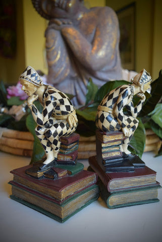 Jester Bookends