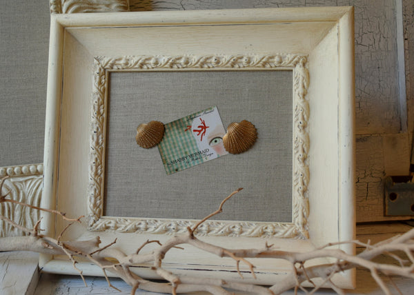 Custom Made Linen Magnetic Display Frame