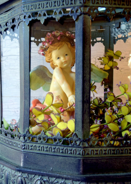 Cherub in the Garden of Eden Display Terrarium