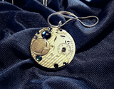 Blue Moon Watchworks Steampunk Jewelry Pendant