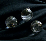 Natural Quartz Crystal Ball Jewelry Pendant Necklace