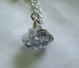 Herkimer Diamond Natural Gemstone Crystal Necklace