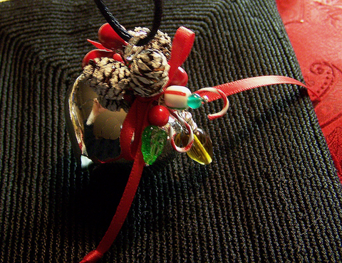 Jingle Bell Christmas Pendant