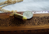 Natural Raw Opal Gemstone Bullet Jewelry Pendant